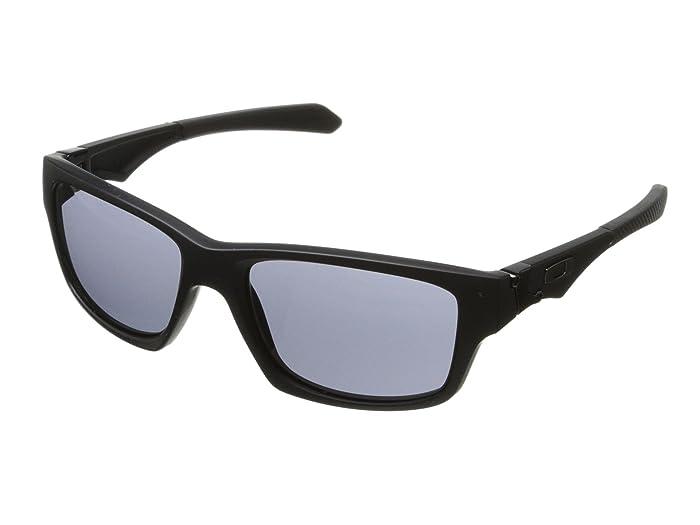 Oakley Jupiter Squared (Grey w/ Matte Black) Athletic Performance Sport Sunglasses