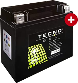 YTX20L BS TECNO GEL Batterie für FXDB 1584 Dyna Street Bob Baujahr 2007 2013