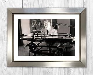 Engravia Digital Naomi Osaka (2) Tennis Reproduction Signature Poster Photo A4 Print(Silver Frame)