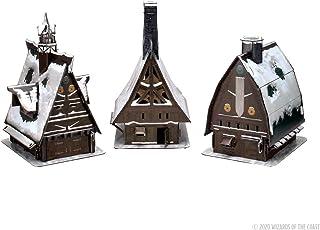 WizKids D&D Icewind Dale: Rime of The Frostmaiden - Ten Towns Papercraft Set