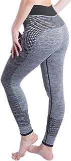 BOZEVON Womens Yoga Pants High Waist Sports Fitness Leggings Pants Athletic Trouser