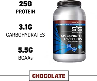 Science in Sport Overnight Protein, 25g Protein Blend, Whey Protein Isolate and Casein Protein, 2.2lbs Chocolate - 28 Servings
