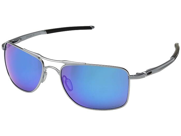 Oakley Gauge 8 (Matte Lead/Prizm Sapphire) Sport Sunglasses