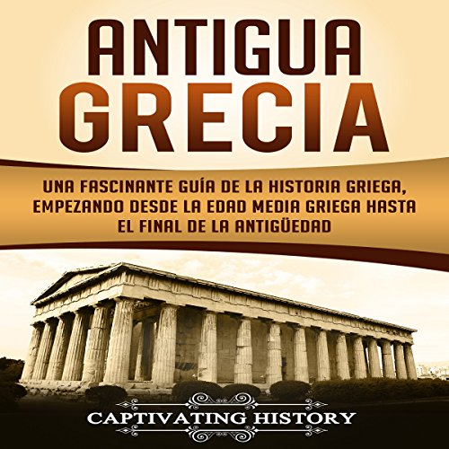 Antigua Grecia [Ancient Greece] audiobook cover art