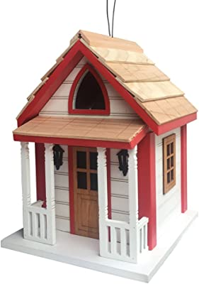 Home Bazaar HB-7605S Country Charm Cottage Birdhouse, Multi