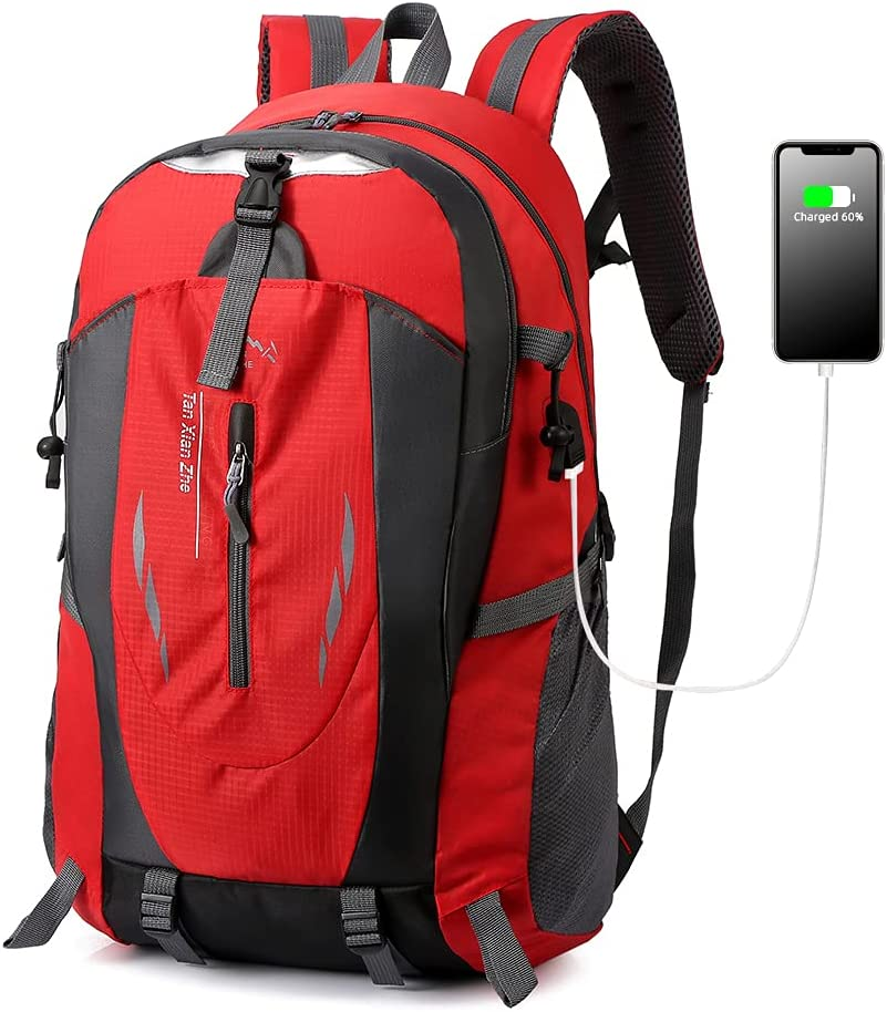 TRIPFUN Max 90% OFF 40L Lightweight Hiking Backpack Nylon Men and women Save money for