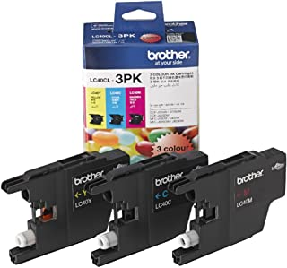 Brother LC40 CLR Value Pack (Cyan,Magenta,Yellow)