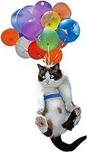 Kattenauto hanger, kat auto hangende ornamenten met kleurrijke ballon, creatieve auto hanger ornament decoratie voor inter...