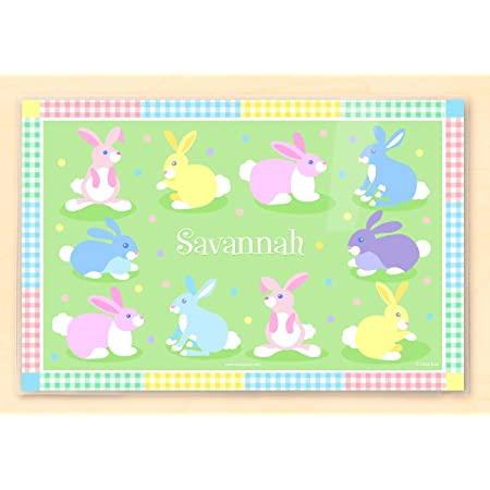 Kids Placemat Laminated Placemat Olive Kids Personalized Easter Placemat Holiday Placemat Baby Chicks Placemat