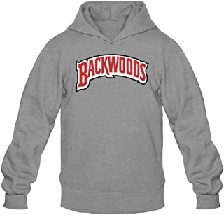 Sungboys Men's Backwoods Cigar Logo Long Sweatshirts Hoodie