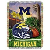 Michigan Wolverines 'Home Field Advantage' Woven Tapestry Throw Blanket, 48' x 60'