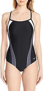 Speedo Women's Powerflex eco Free Racer one Piece Swimsuit