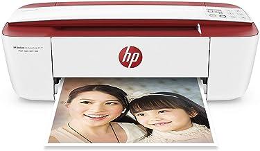 HP DeskJet 3764 - Impresora de tinta multifunción (8 ppm, 4800 x 1200 DPI, A4, Wifi, Escanea, Copia, 60 hojas, Modo silencioso), Roja