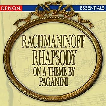 Rachmaninoff: Rhapsody on a Theme by Paganini