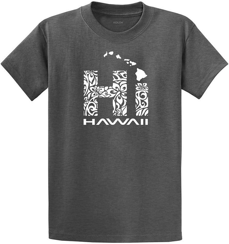 Koloa Surf Hawaiian Islands Tribal Hi Hawaii Shirts in Regular, Big & Tall