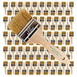 96pk - 2.5 inch Chip Paint Brushes for Paint, Stains,Varnishes,Glues,Gesso