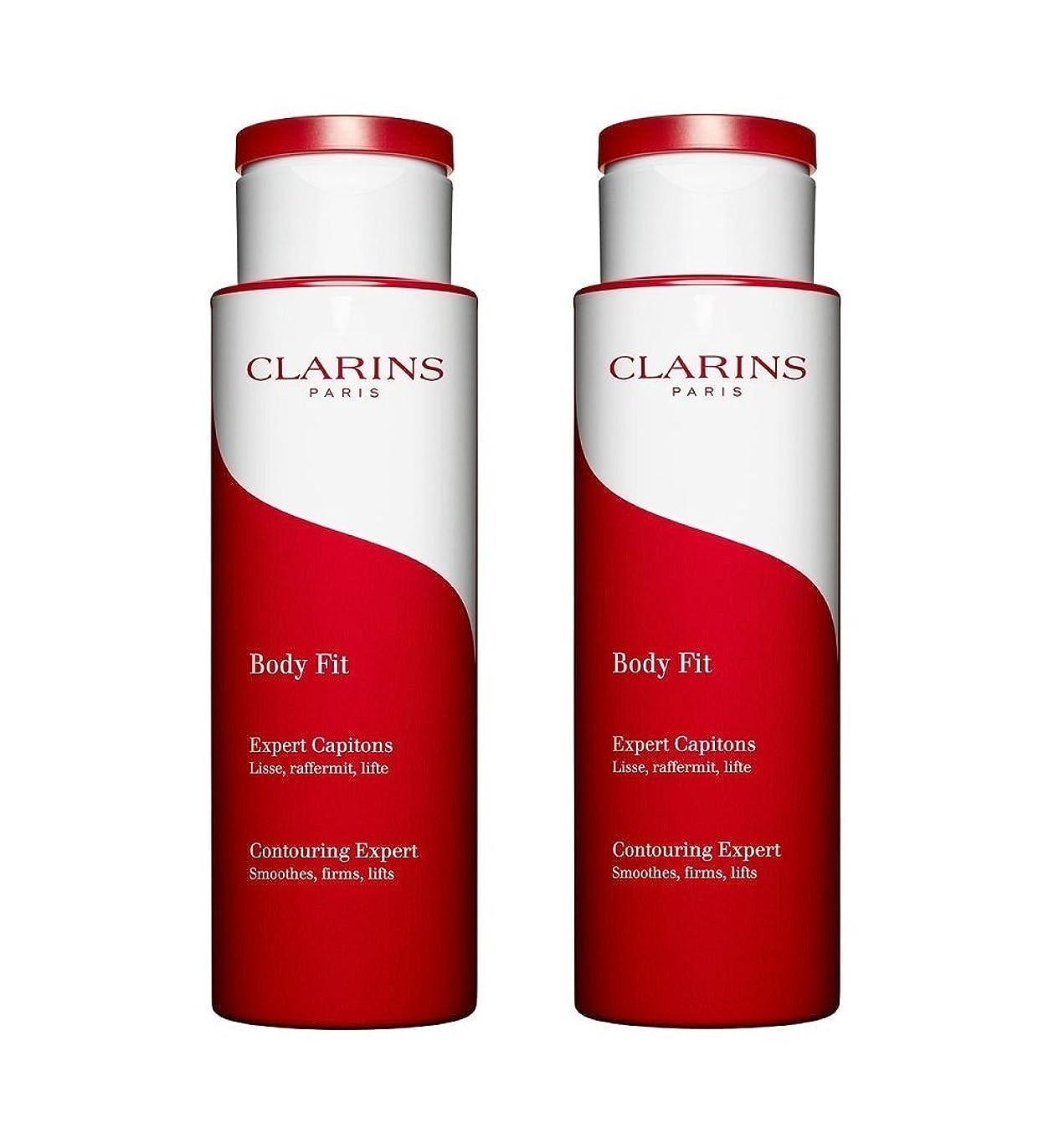 消費必要性適用済みクラランス CLARINS ボディ フィット 200mL 【2本セット】 [並行輸入品]