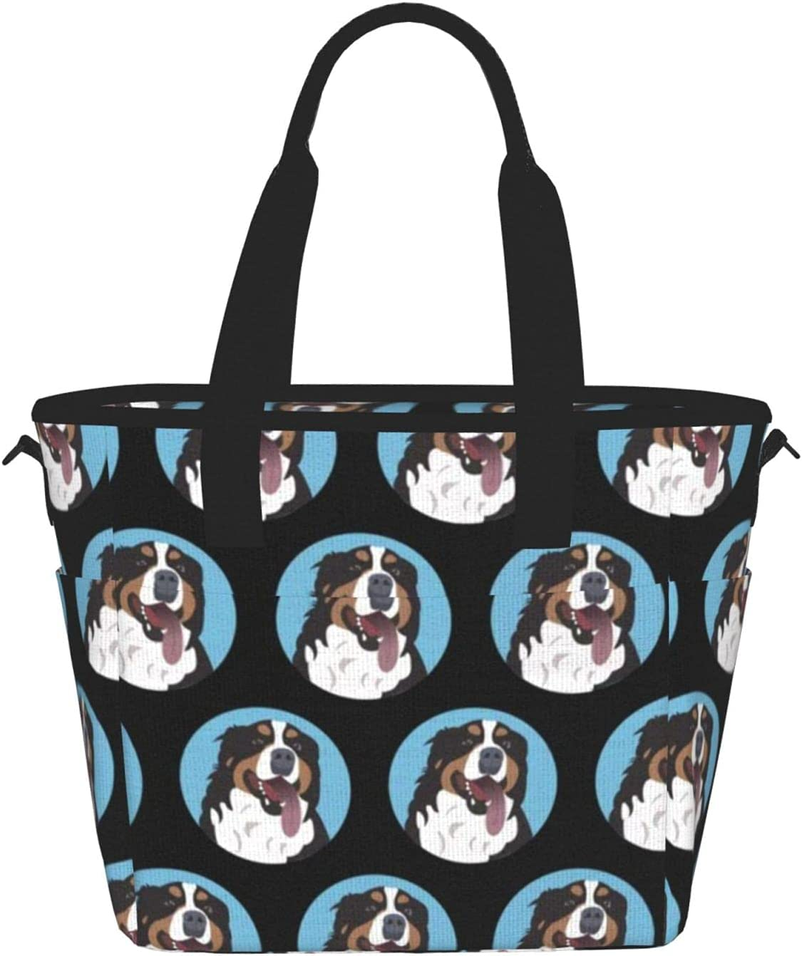 Bernese Mountain Dog Reusable Large Collap Insulated - Popular product Lunch Large discharge sale Bag