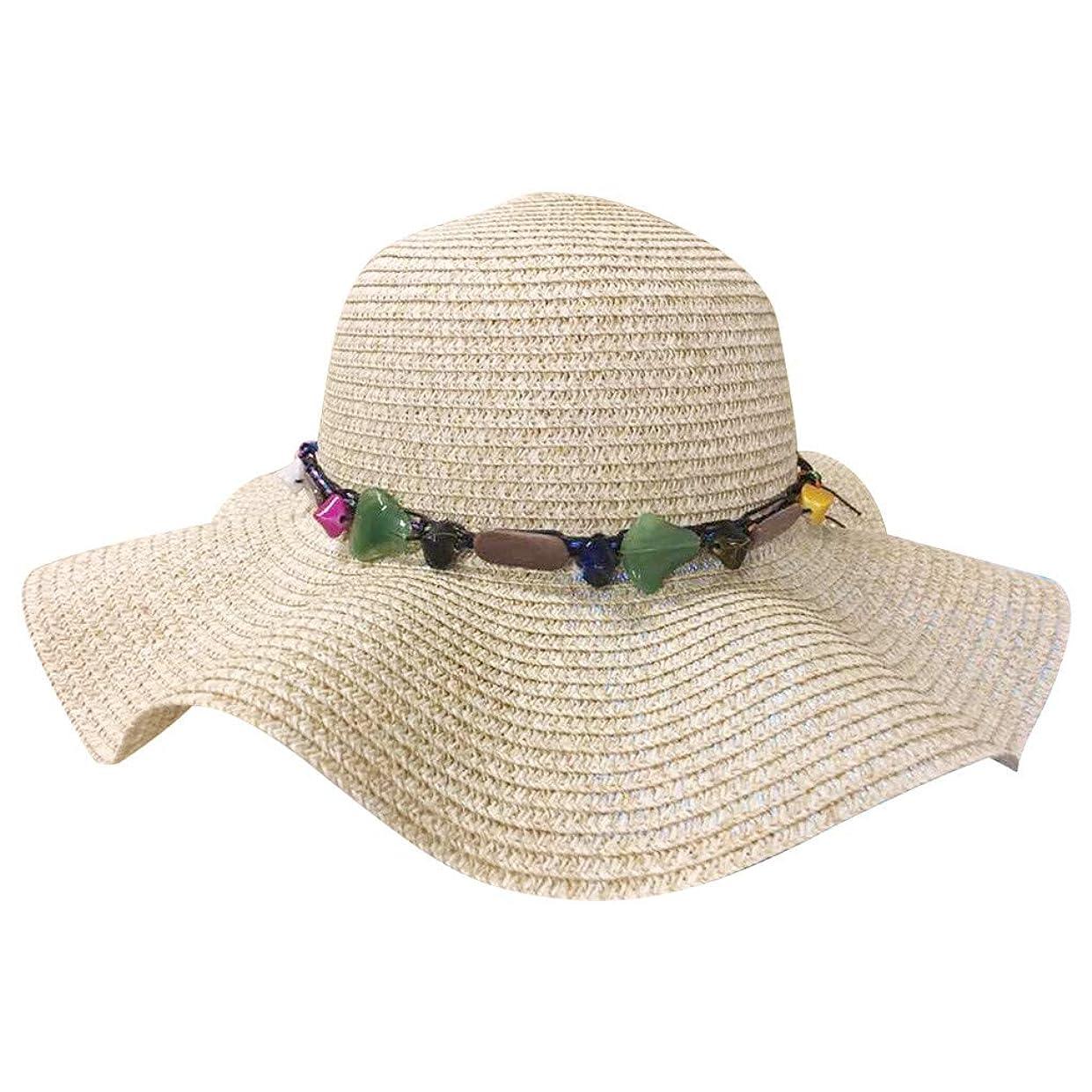 現代振動させる色大きいサイズ 日よけ 帽子 レディース つば広 ハット uvカット ハット 紫外線対策 可愛い 小顔効果抜群 折りたたみ サイズ調節可 小顔効果 ビーチ キャップ レディース 海辺 帽子 サイズ調整 テープ 夏 春 ROSE ROMAN