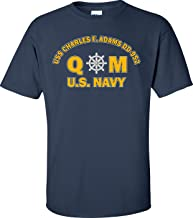 USS Charles F. Adams DD-952 Rate QM Quartermaster T-Shirt