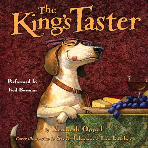 The King's Taster audiobook cover art