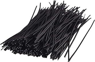 Twist kabelkoord banden, 100Packs herbruikbare bevestiging plastic organizer banden voor kabels vastbinden en bevestigen z...