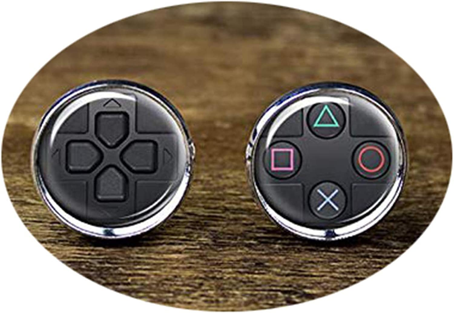 Death Devil Handmade Cuff Links,Video Game Controller Cufflinks, Game Controller Cufflinks, Video Game Accessories,Gift of Love