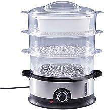 DAGUAI Accueil Vabi à vapeur électrique Pot à vapeur multifonctionnel Puissance automatique de la puissance de 3 couches d...