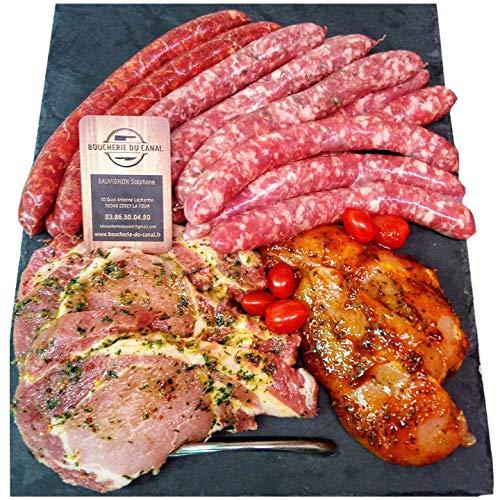 Colis viande barbecue 2Kg - BOUCHERIE DU CANAL