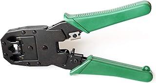 deleyCON Krimptang voor Modulaire Stekkers Westerse Stekkers voor RJ11 RJ12 RJ45 Telefoon- en Netwerkkabels 6P4C 6P6C 8P8C...