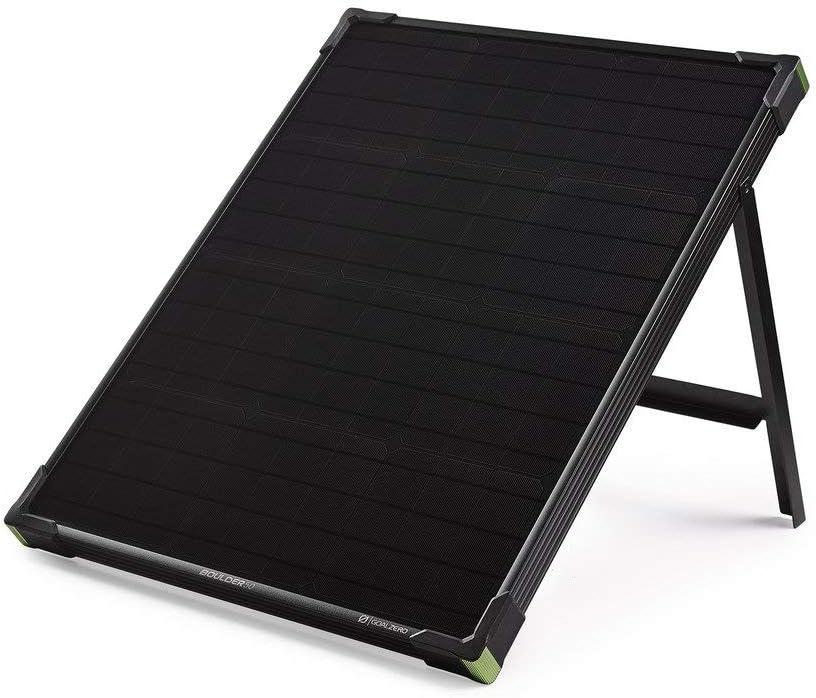 ブランド買うならブランドオフ Goal Zero Boulder 50 Watt Renewed Panel お見舞い Monocrystalline Solar