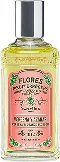 Álvarez Gómez - Flores Mediterráneas Verbena y Azahar Agua de Colonia - Frasco de 150 ml