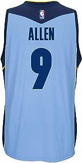 adidas Tony Allen Memphis Grizzlies NBA Blue Official Climacool Away Road Swingman Jersey for Men