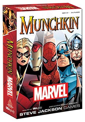 USAopoly USOMU011000 Munchkin: Marvel, Colores Variados