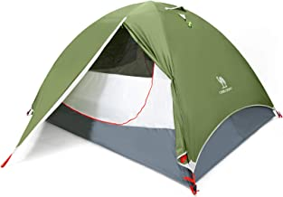CAMEL CROWN 3-4 Person Camping Dome Tent with Automatic...