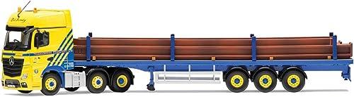forma única Corgi - Mercedes-Benz Actros MP4, Flatbed Flatbed Flatbed Trailer, Middlebrook Transport Ltd (Hornby CC15811)  Ven a elegir tu propio estilo deportivo.