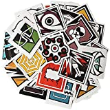 SYUSAMA 40Pcs Rainbow Six Siege R6 R6s Operators Icon Vinyl Stickers
