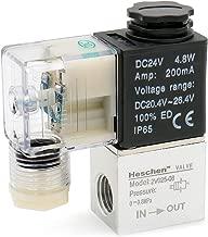 Woljay Sol/éno/ïde Electrovanne Pneumatique PT 1//4 Soupape dair 2V025-08 DC 12V 2 Voies 2 Position