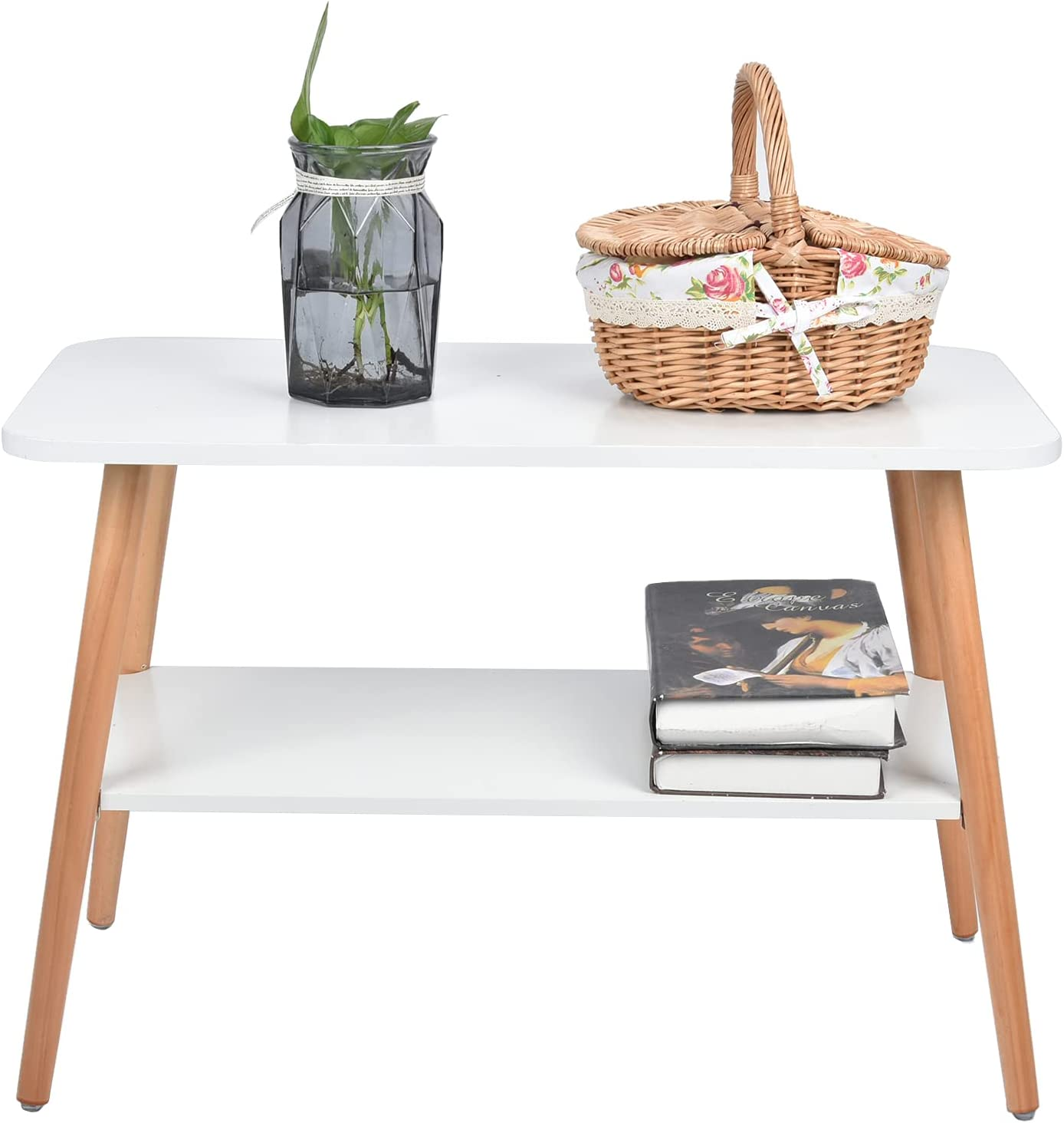 Beauty products Cerlingwee Coffee Max 85% OFF Table 70.2 X 35 for Study cm 47 End