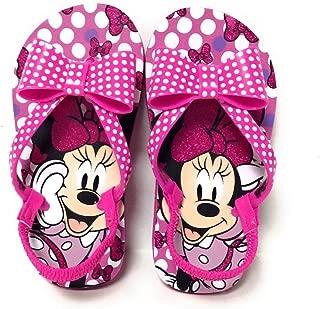 Minnie Mouse Toddler Flip Flop Sandals, Size (9-10) Pink