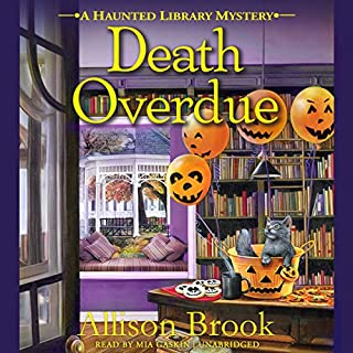 Death Overdue audiobook cover art
