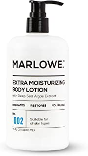 MARLOWE. 002 Extra Moisturizing Body Lotion 15 oz | Daily Lotion for Dry Skin for Men and Women | Light Fresh Scent | Incl...