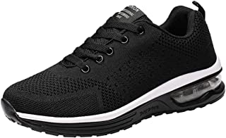 UOKNICE Couple Models Flying Woven Mesh Shoes Lace-up Casual Running Shoes Gym Student Sports Sneaker