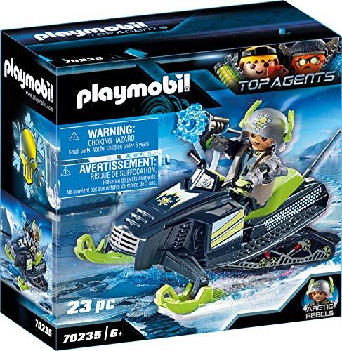 Playmobil Top Agents 70235 - Motoslitta dei Ribelli dell'Artico, dai 6 anni