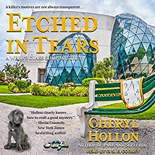 Etched in Tears audiobook cover art
