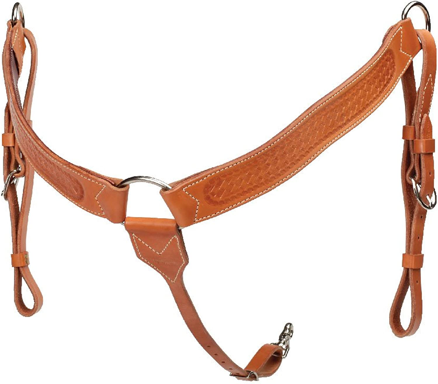 colorado Saddlery The Stamped gold Around Breast Collar