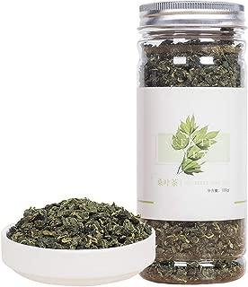 Natural Mulberry Leaf Tea,Organic Sun-Dried Mulberry Loose Leaves,Loose Leaf Tea,Slice Chinese Flora Herbal,Sang Ye-100G