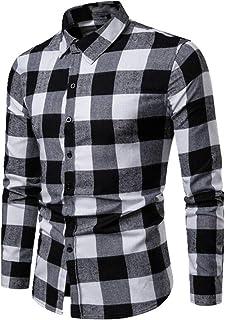 U/A Plaid Shirt 2020 Inverno Flanella Rosso Scacchi Camicia Uomini Camicie Manica Lunga Chemise Homme Cotone Maschio Camic...