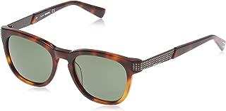 DIESEL Unisex Adults' DL0237 52N 51 Sunglasses, Brown (Avana Scura/Verde)