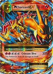 small Pokemon-Mega Charizard-EX (13/108) -XY Evolution-Holographic